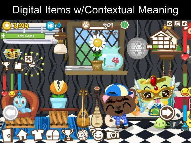 Digital Items w/Contextual Meaning