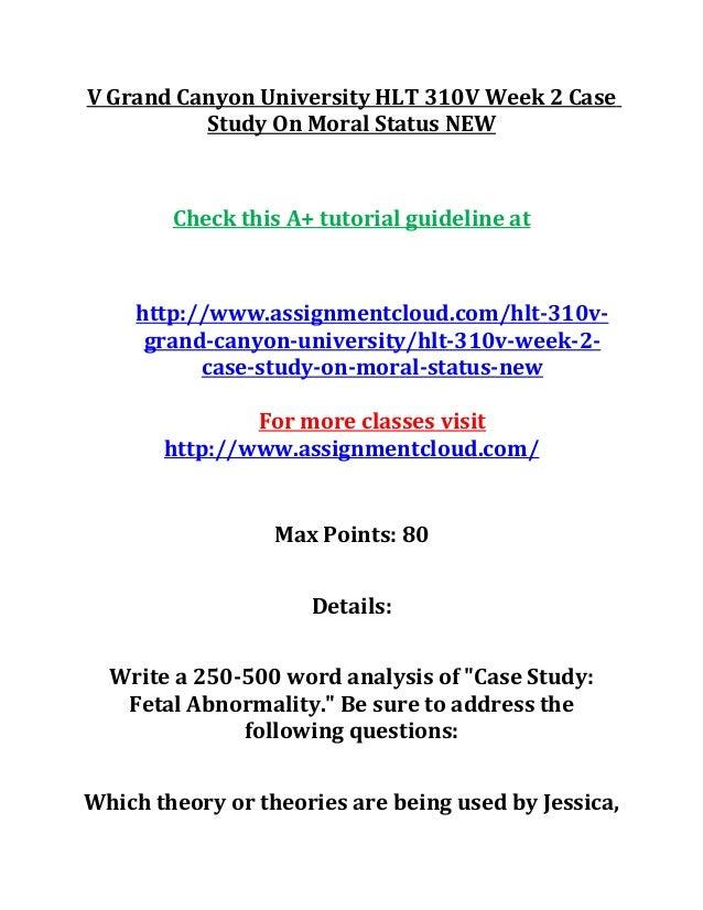 case study fetal abnormality grand canyon university