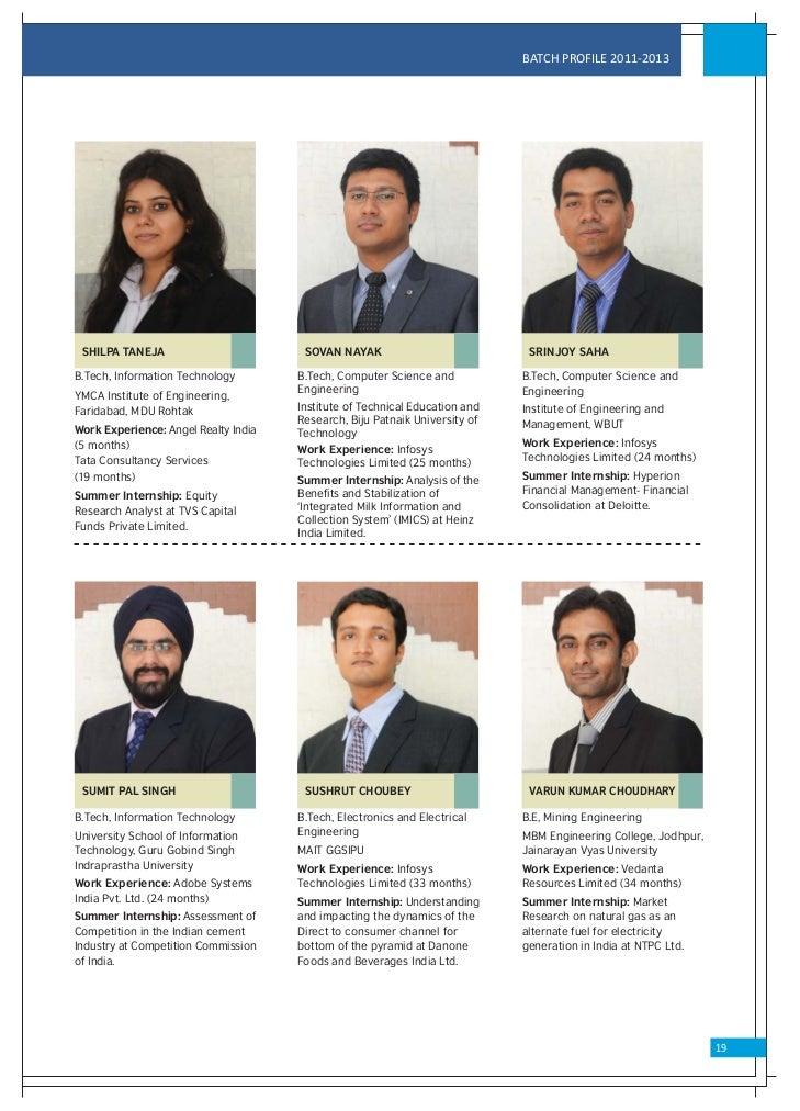 Vgsom Placement Brochure 2012 13 Final