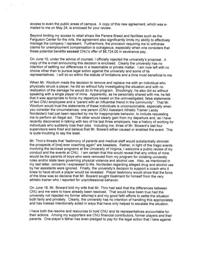Swanenburg Letter to Board of Visitors Slide 3