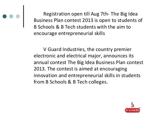 2013 Youth Business Plan Competition Winners Announced