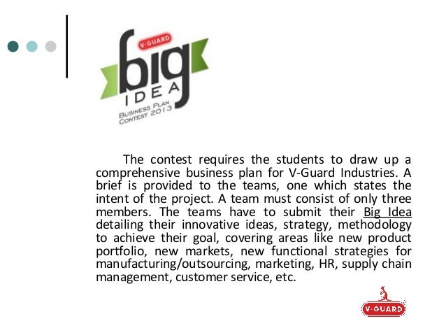 Business plan competitions in india 2013