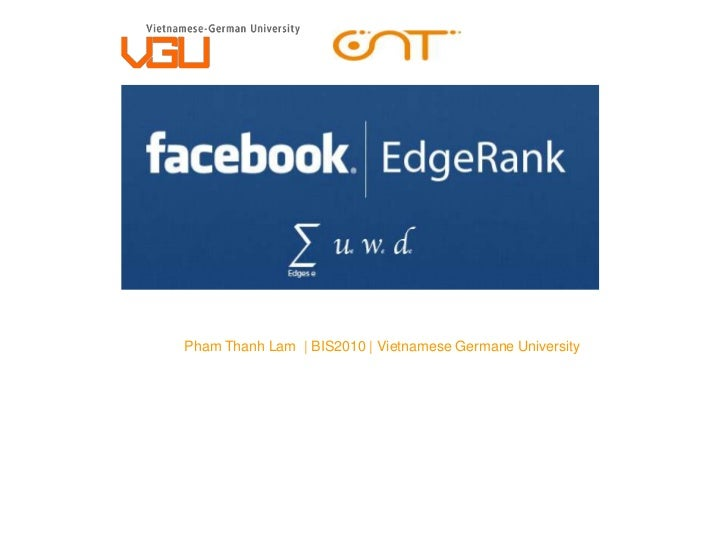 Pham Thanh Lam | BIS2010 | Vietnamese Germane University