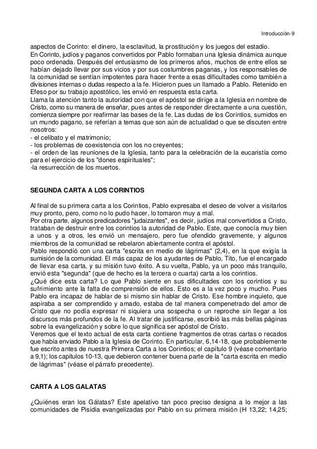 Introducción-9 aspectos de Corinto: el dinero, la esclavitud, la prostitución y los juegos del estadio. En Corinto, judíos...
