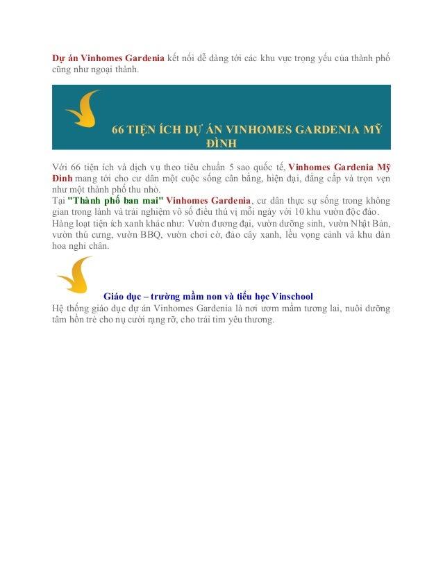 Vinhomes Gardenia Mỹ Đình Slide 2