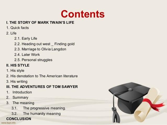 Short summary on the adventures of tom sawyer