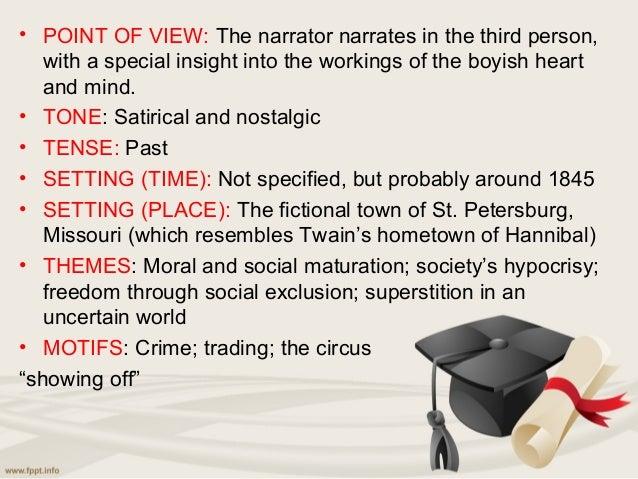 summary of tom sawyer novel