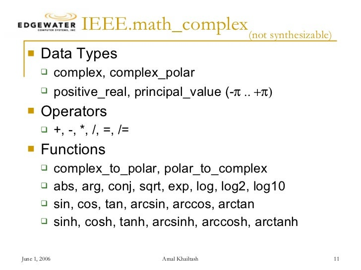 Vhdl Packages Coding Styles For Arithmetic Operations And