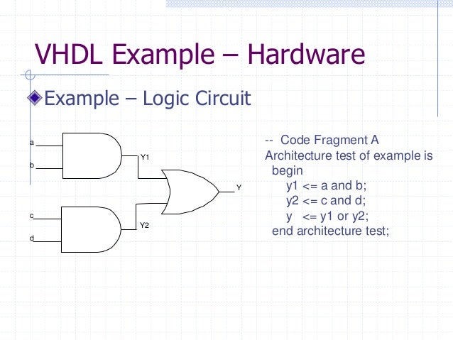 vhdl assignment Vhdl assignments are used to assign values from one object to another in  vhdl there are two assignment symbols: = assignment of signals :=  assignment.