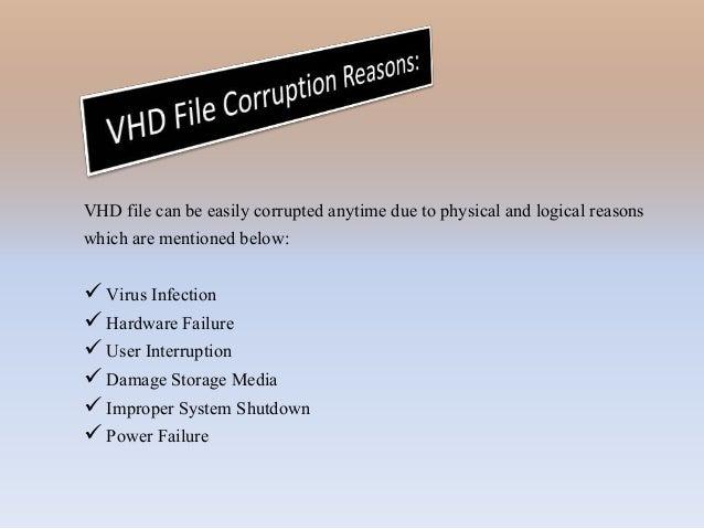 VHD Recovery Tool