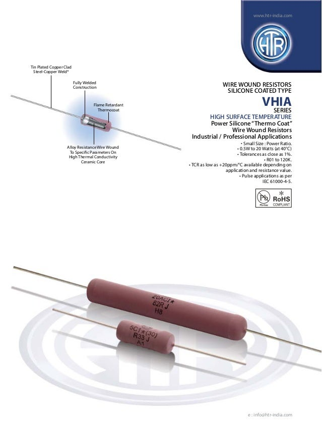 www.htr-india.com  Tin Plated Copper Clad Steel-Copper Weld® Fully Welded Construction  Flame Retardant Thermocoat  WIRE W...