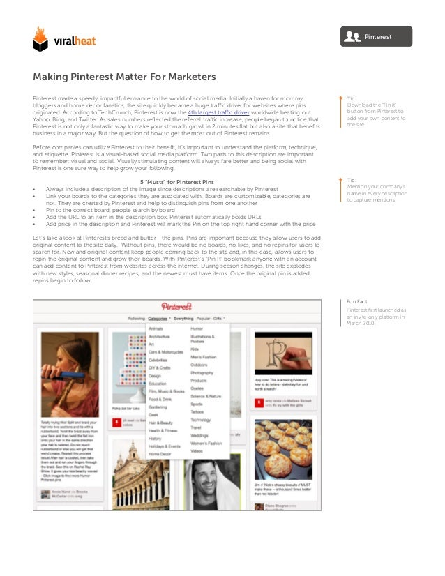 Pinterest made a speedy, impactful entrance to the world of social media. Initially a haven for mommy bloggers and home de...