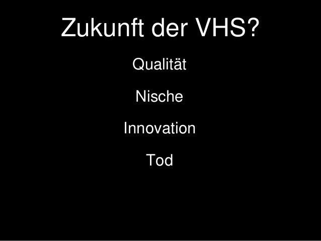 Vermutung #1 Ihnen bleibt mittelfristig nur Innovation.