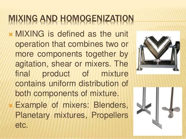 Pharmaceutical Mixing & Homogenization