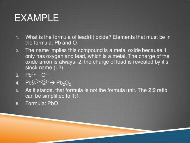 Vi Nomenclature Of Inorganic Compounds