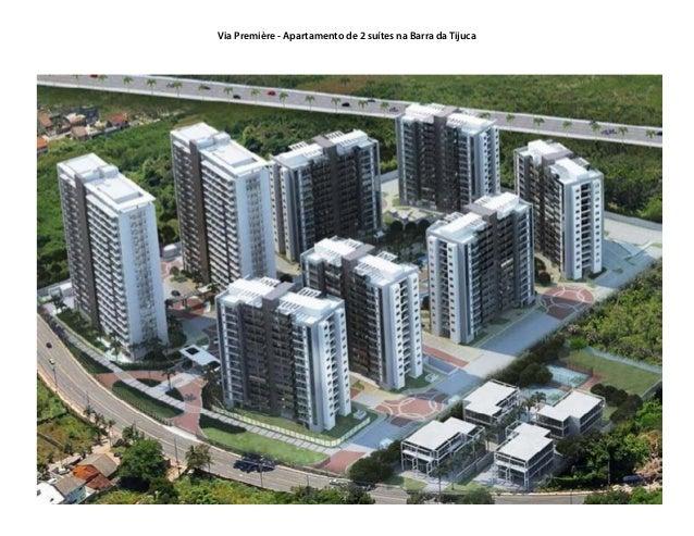 Via Première - Apartamento de 2 suítes na Barra da Tijuca