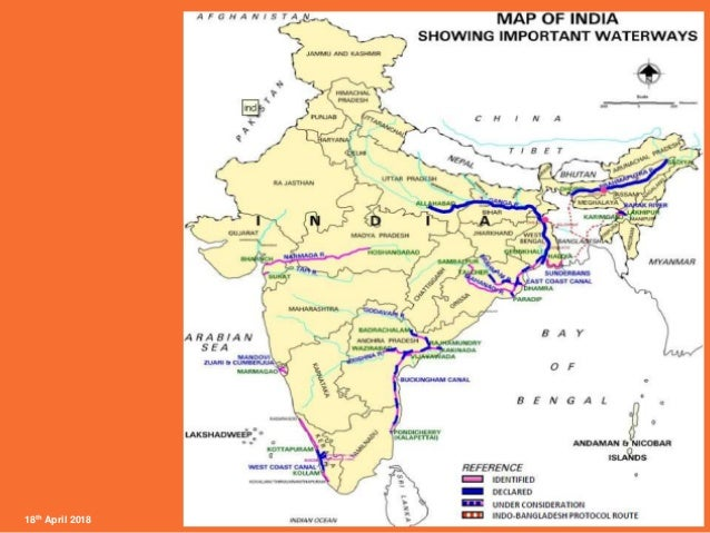 Viability of inland waterways in india