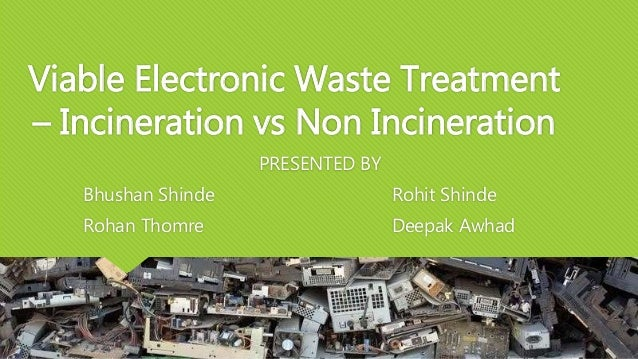 what is being done about e-waste