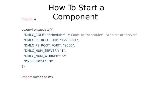 Apache MXNet Distributed Training Explained In Depth by Viacheslav Ko…