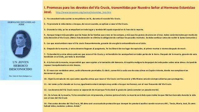 c0cee06d9b8 ... 2. I. Promesas para los devotos del Vía Crucis ...