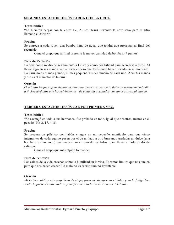 Viacrucis Juvenil Misionero Slide 2
