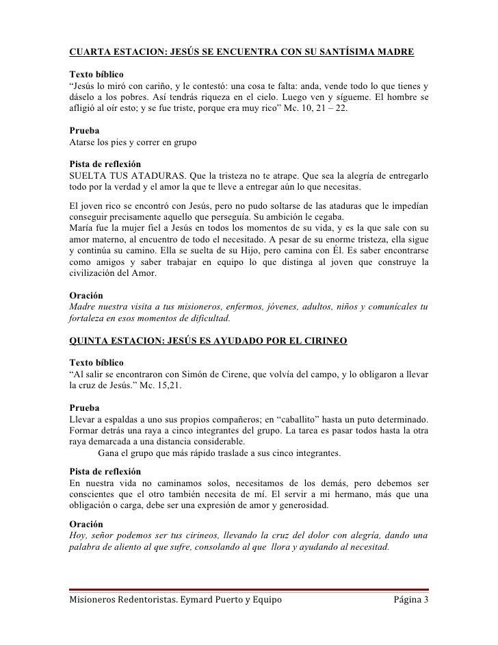 Viacrucis Juvenil Misionero Slide 3