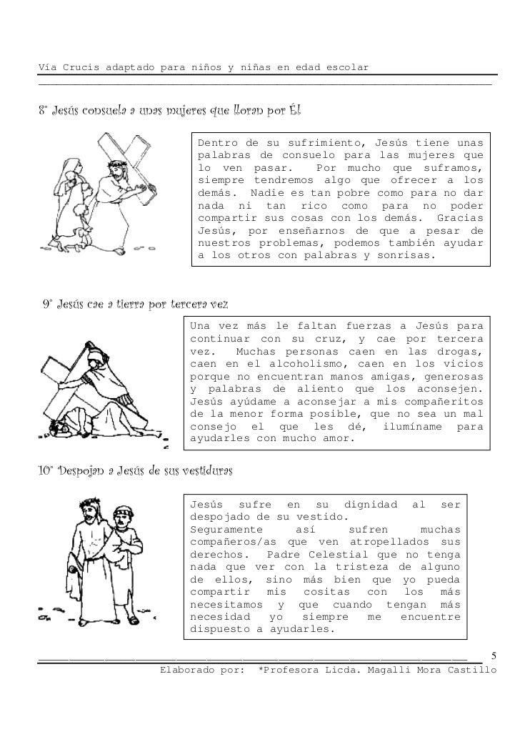 Via crucis para niños y niñas)