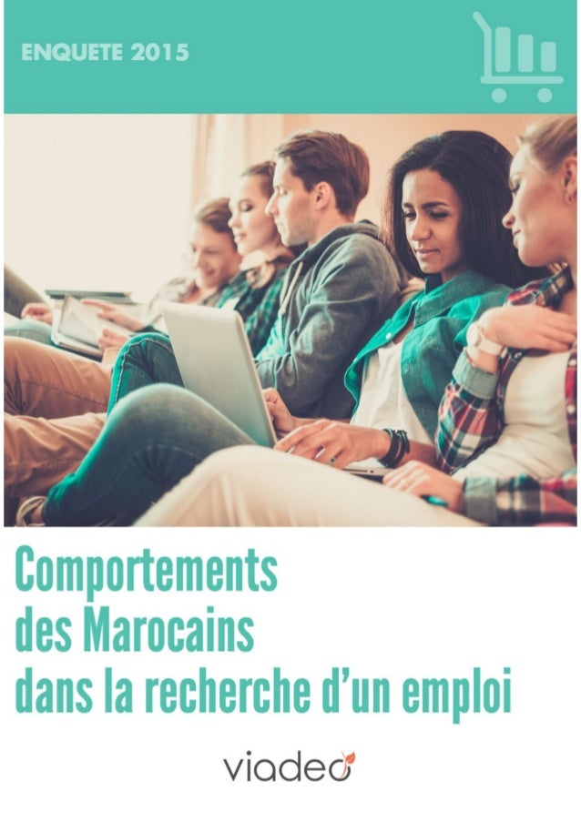 Viadeo   enquete comportements des marocains dans la recherche d'un emploi