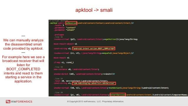 Via forensics thotcon-2013-mobile-security-with-santoku-linux