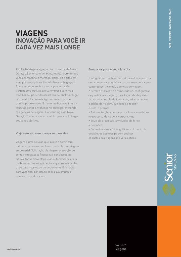 Viagens RH - Vetorh® Senior