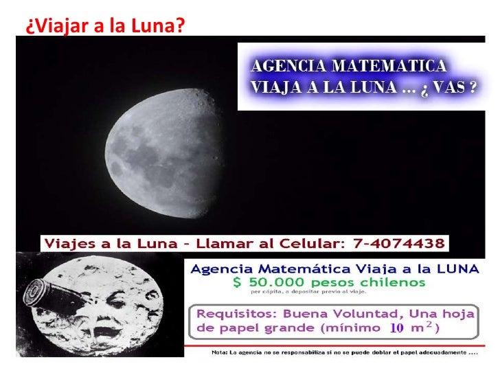 ¿Viajar a la Luna?
