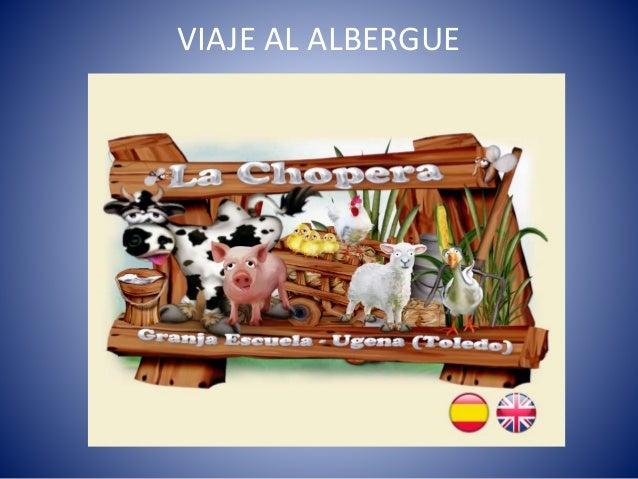 VIAJE AL ALBERGUE