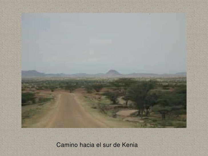 Camino hacia el sur de Kenia