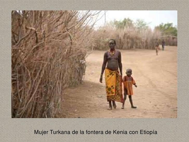 Mujer Turkana de la fontera de Kenia con Etiopía