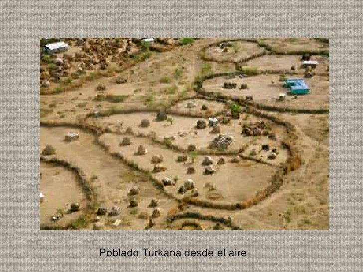 Poblado Turkana desde el aire
