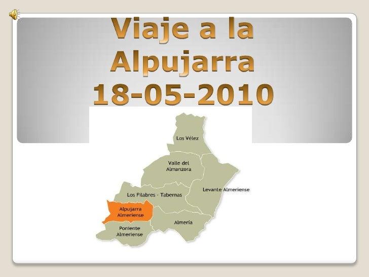 Viaje a la Alpujarra<br />18-05-2010<br />