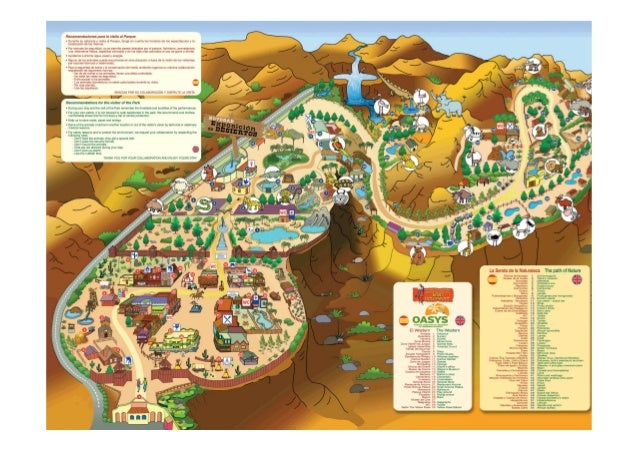 Viaje al parque oasys Slide 2