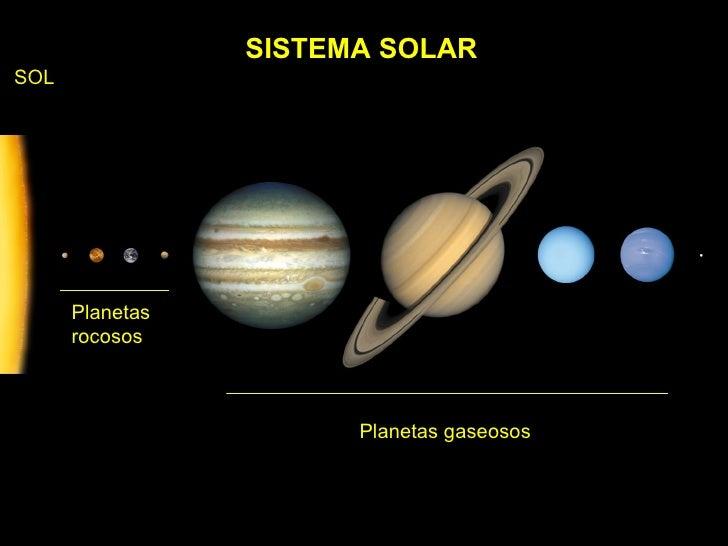 Resultado de imagen de La formación de los planetas rocosos y gaseosos