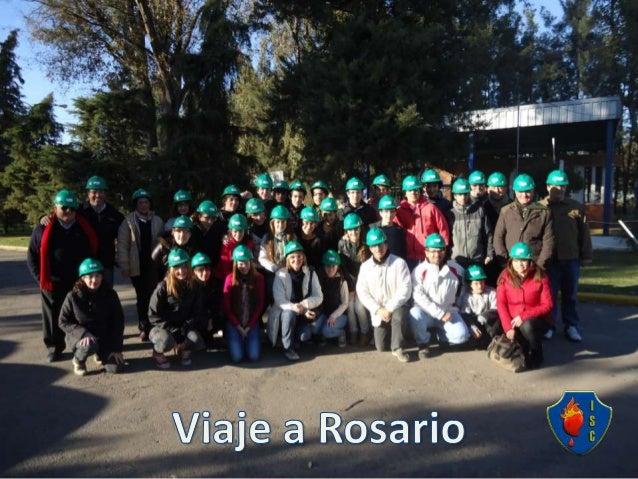 Viaje a rosario realizado por los Alumnos de 5º Año Economía y Administración a la ciudad de Rosario