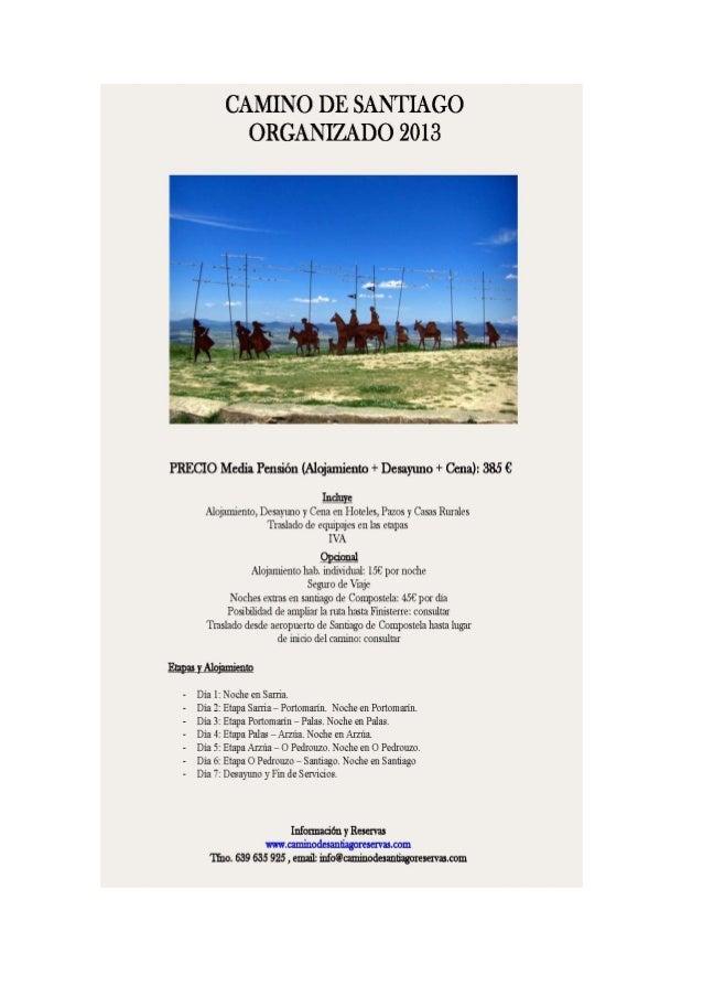 Se van a realizar dos excursiones, si hay demanda:1º .- Del 22 de Julio al 28 de JulioResponable:Nombre: MERCEDESFORMA DE ...