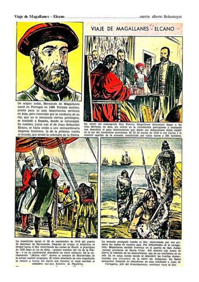 Viaje de Magallanes – Elcano………………………….....…………………..martin alberto Belaustegui