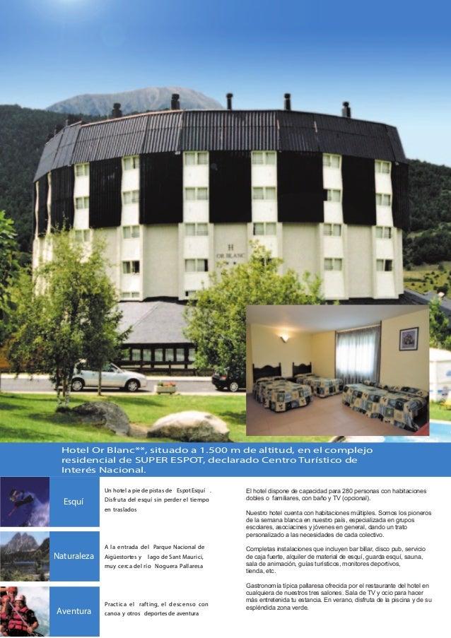 Viaje grupos estudiantes en espot pirineo catalan espost2000 - Hotel en pirineo catalan ...