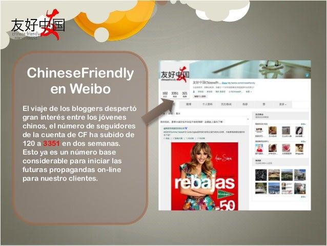 Turismo Explorador: Bloggers chinos descubren España - Efecto Redes Sociales by Chinese Friendly International Slide 2