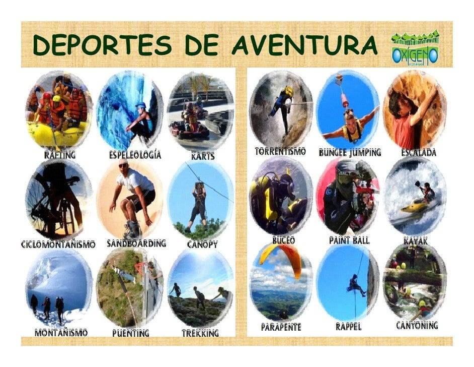 Los Deportes Y Los Juegos En Inglés En Listas E Imágenes: DEPORTES EXTREMOS: DEPORTES