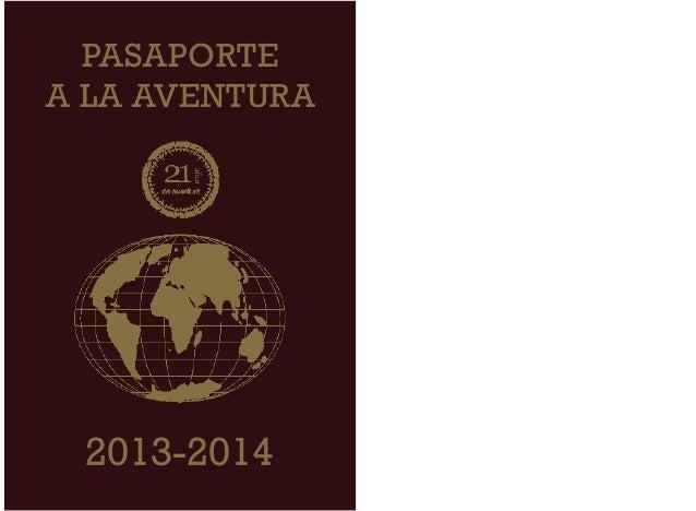 PASAPORTEA LA AVENTURA 2013-2014
