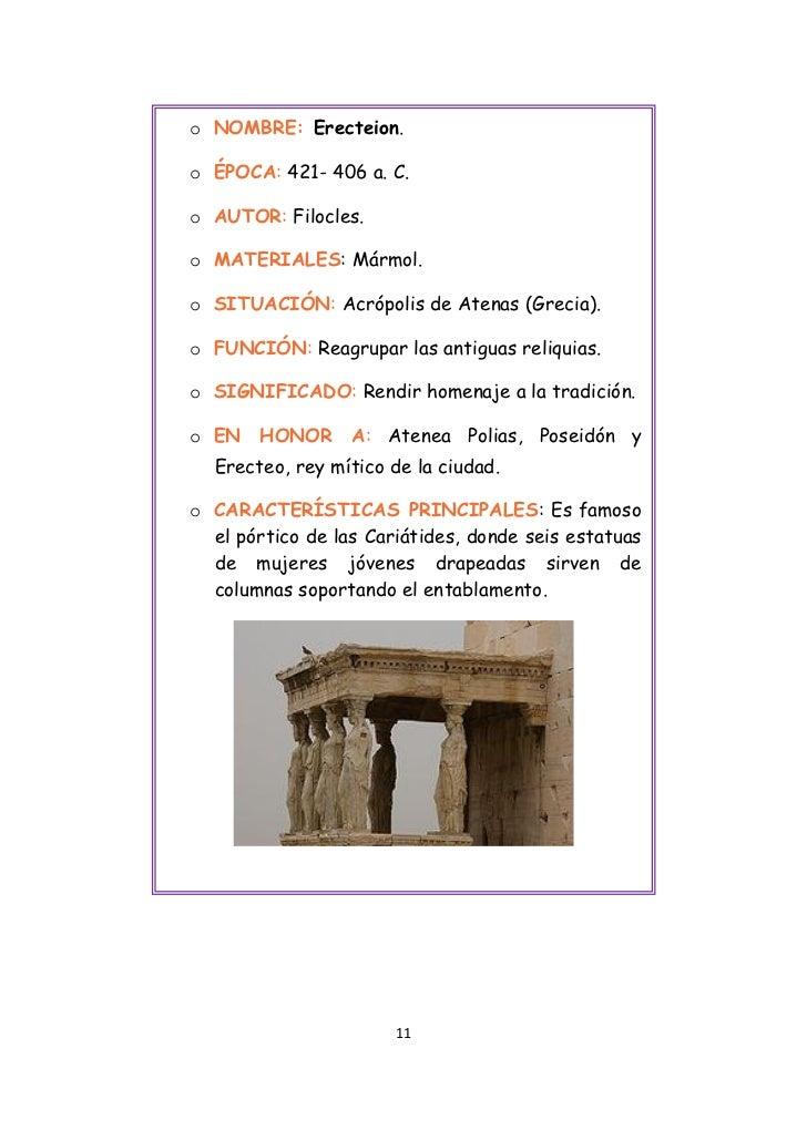 Viaje virtual a grecia for Marmol caracteristicas