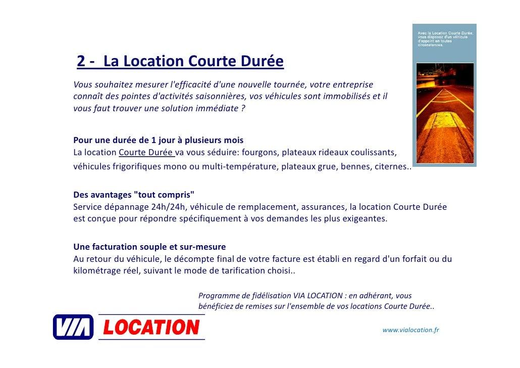 Via location pr sentation - Contrat location meuble courte duree ...