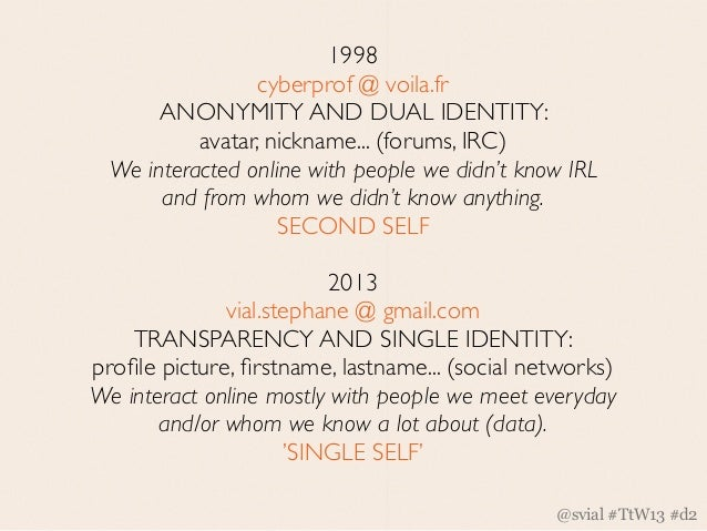 IRL IN THE URL (2000s +)                          Welcome to Digital Monism.     We now live in a hybrid environment made ...