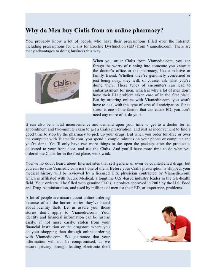 Viamedic erectile dysfunction pharmacy review tips from viamedic.com Slide 2