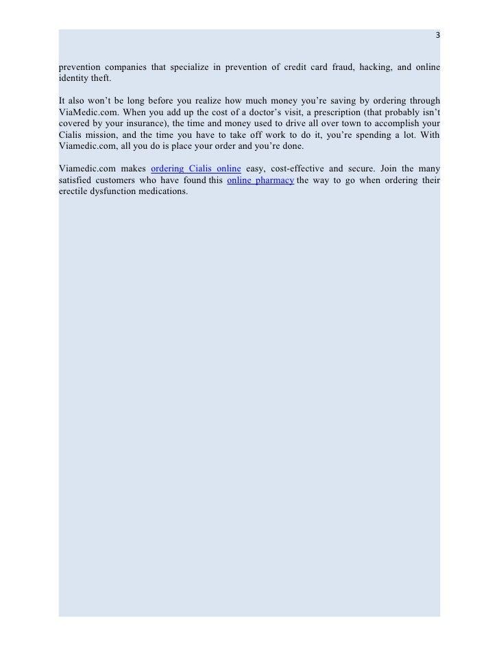 Viamedic erectile dysfunction pharmacy review tips from viamedic.com Slide 3